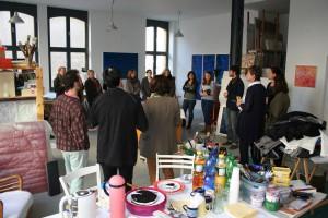 Netzwerktreffen mit Atelierbesichtigung