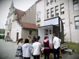 artstifter artmentoring Ausstellung-Isaac Newton Schule Berlin